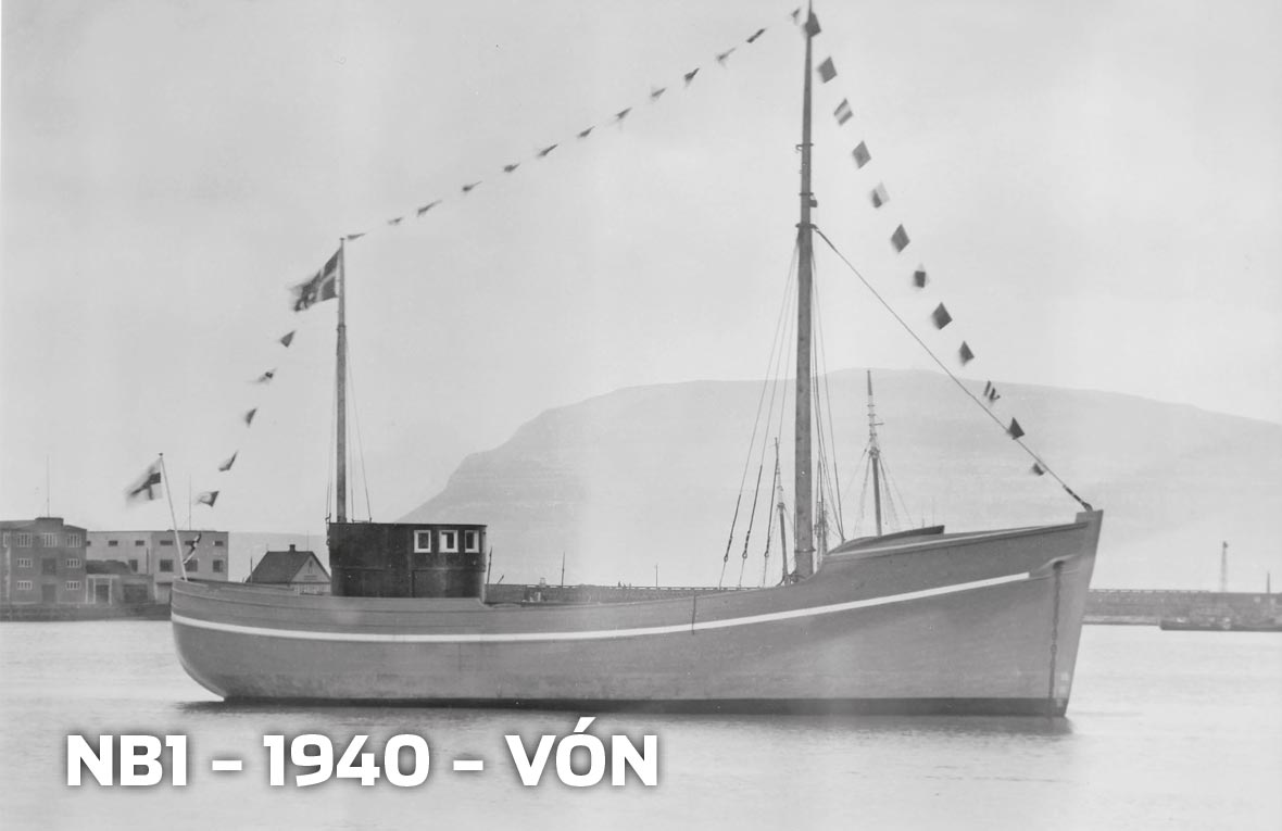 Tórshavnar Skipasmiðja - NB1 - 1940 - Vón