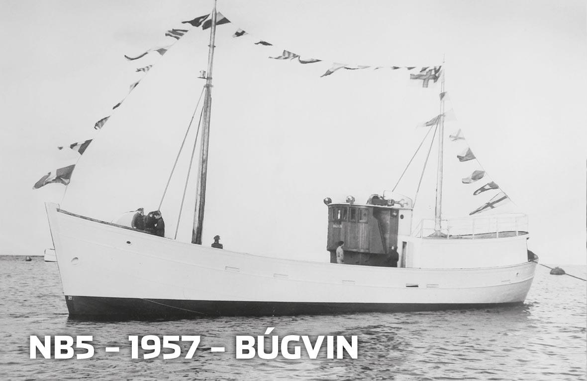 Tórshavnar Skipasmiðja - NB5 - 1957 - Búgvin