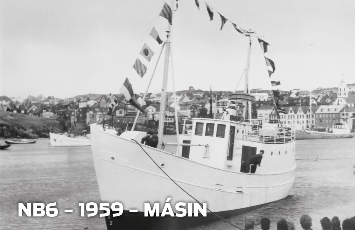Tórshavnar Skipasmiðja - NB6 - 1959 - Másin
