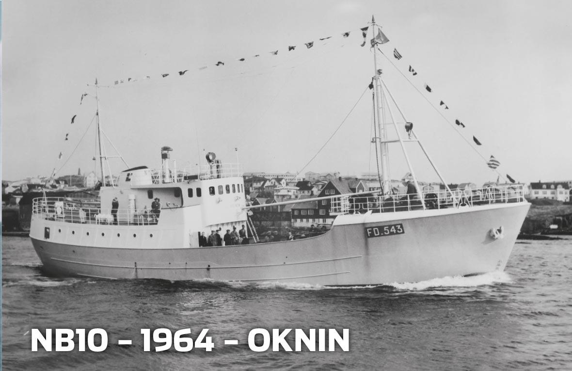 Tórshavnar Skipasmiðja - NB10 - 1964 - Oknin