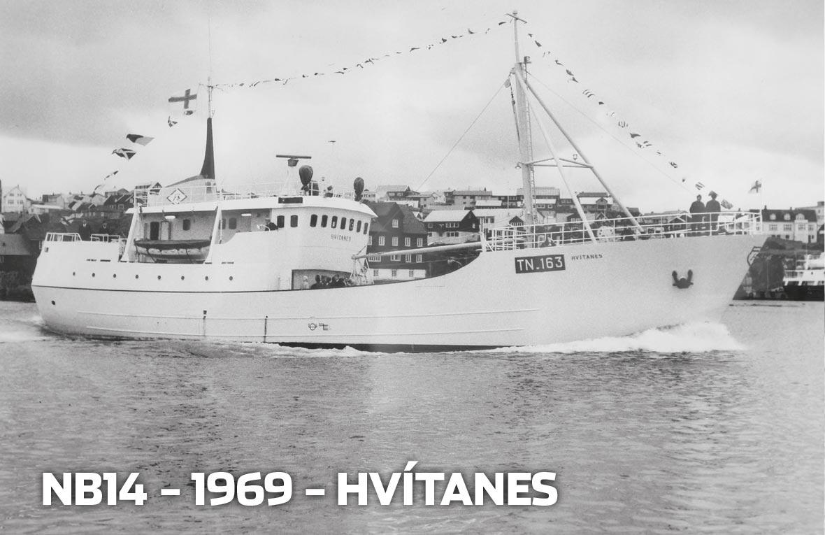 Tórshavnar Skipasmiðja - NB14 - 1968 - Hvítanes
