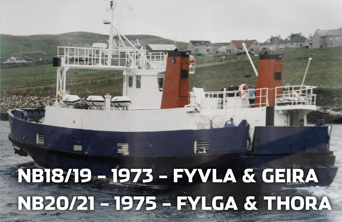 Tórshavnar Skipasmiðja - NB18 - 1973 - Fyvla