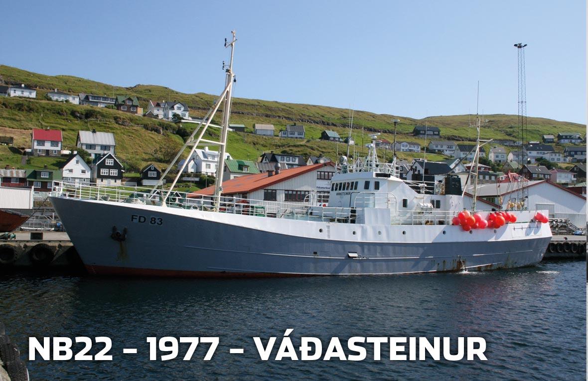 Tórshavnar Skipasmiðja - NB22 - 1977 - Váðasteinur